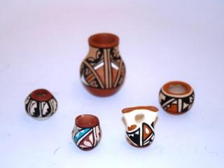 5 miscellaneous Native American pieces