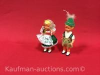 Hansel & gretel wind up dancing dolls