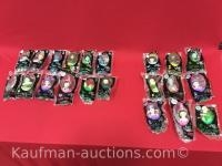 Madame Alexander the Wizard of Oz dolls/ 1 full set & 9 misc