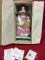 World Gallery laura cobabe porcelain doll