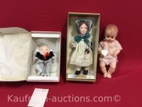 3 Effanbee dolls / lesley, humpty dumpty