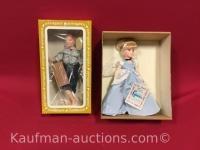 2 Effanbee dolls/ Cinderella and Huckleberry Finn