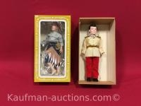 2 Effanbee dolls/ Prince charming and Huckleberry Finn