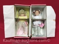 Paradise Galleries porcelain dolls/ includes Heather the fairy child