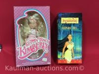 Pocahontas and getting fancy Kimberly dolls