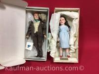 2 Effanbee Dolls/ James Cagney & 1984 Judy Garland