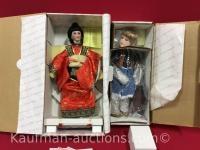 Heritage & Hamilton porcelain dolls / Chen Mai & savannah
