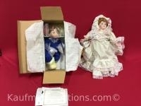 Mann & McDonald's N Me porcelain dolls