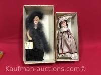 2 Effanbee dolls/ Mae West & Coco