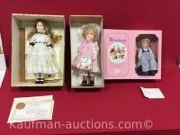 3 Effanbee Dolls/ Poor Cinderella, Jan Hagara & 1977 The dewees Cochran