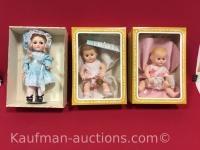 3 Effanbee Dolls/ Dydee & Nannette