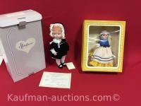 2 Effanbee Dolls/ Patsy girl & Mother Goose tails