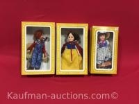 3 Effanbee Dolls/ Snow White, old McDonald and Becky Thatcher