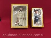 2 Effanbee Dolls/ Mark twain & Huckleberry Finn