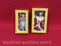 2 Effanbee Dolls/ Old King Cole and Becky Thatcher