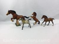 4 Breyer horses, includes Jumper