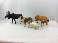 4 Breyer Animals