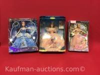 Cinderella, Glinda & Princess Annelies Barbie Dolls