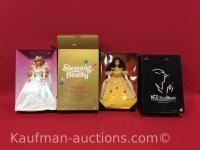Sleeping Beauty & Beauty and the Beast Barbie Dolls