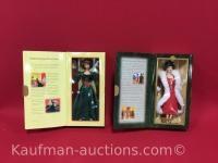 Holiday Voyage & Holiday Sensation, Hallmark Barbie Dolls
