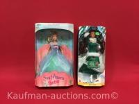 Sea Princess & Belle Barbie Dolls