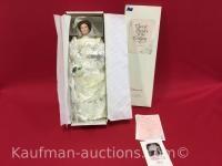 Flora the 1900's Bride Porcelain Doll
