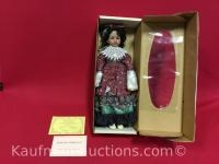 Naomi Porcelain Doll