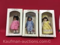 3 Dolls by Pauline / eyes blink