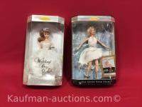 Marilyn Monroe and wedding day Barbie dolls