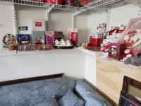 CocaCola items-ornament, stuffed bears, snow globes, clock, die cast, figurines, Barbie, and much mo...