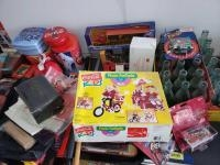 CocaCola items-tins, napkins, serving tray, bottles, die cast, napkin dispenser, pins, bags Too much...