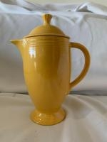 Fiesta coffee server with lid