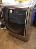 LG front load 9.0 cu. ft. large dryer. Steam cycle and sensor dry, smart diagnostics, turbo steam, s...