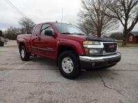 2004 GMC Canyon extended cab pickup truck; 4 doors; 4x4; 3500 Vortec 5 cylinder; automatic; hard top...