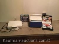Hamilton Beach Electric grill, Coleman cooler and electronic tool kit
