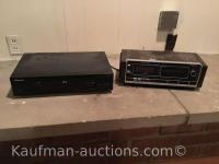 Pioneer dvd-vhs player & Zenith stereo