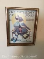 Norman Rockwell Picture - Clock