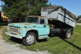 1965 Ford F602 Dump Bed