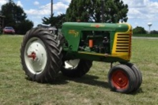 Oliver 77 Diesel Row Crop Pulling Tractor