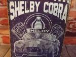 SHELBY COBRA 12 IN X 16 IN METAL WALL ART