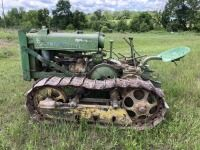 John Deere BO orchard crawler