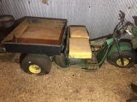 John Deere 3 wheel Gator