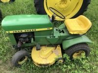John Deere 70 lawn mower with deck
