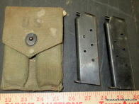 Pistol Magazines and Pouch