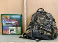 Scrapbook and Camo Backpack