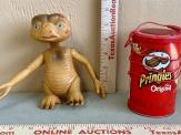 E.T. Figurine and Pringles Can Speaker