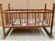 Wood Doll Cradle