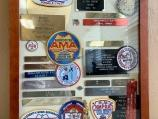 Shadow Box with Patches and Awards