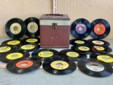 45rpm Records and Carry Case
