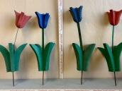 Wood Art Flowers